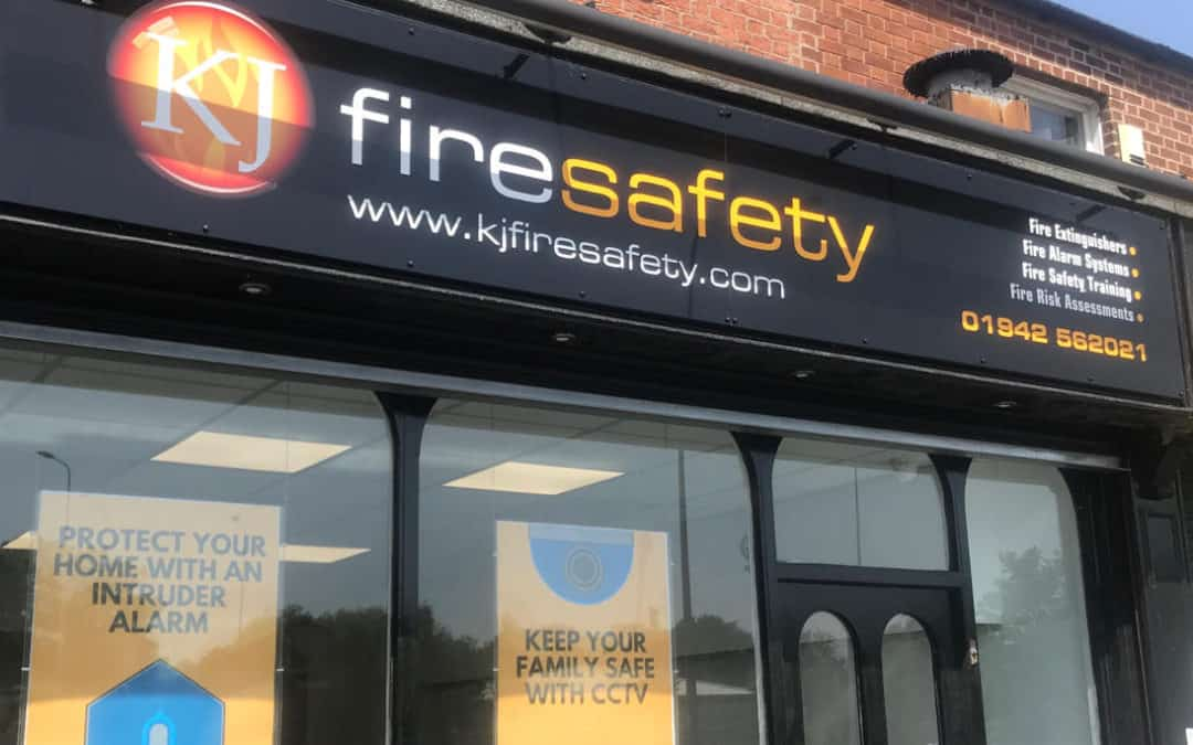 Big move announced as business expansion continues for KJ Fire Safety