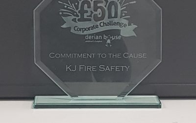 KJ Fire Awarded 'Commitment to the Cause' at Derian House Awards