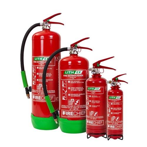 Firechief Lithium Ex Extinguishers